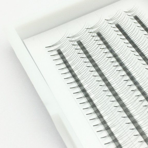 Wholesale C D Curl 0.07mm 0.1mm Thickness 8-12mm mix length and 11-15mm single length 3D Volume Eyelashes Extensions