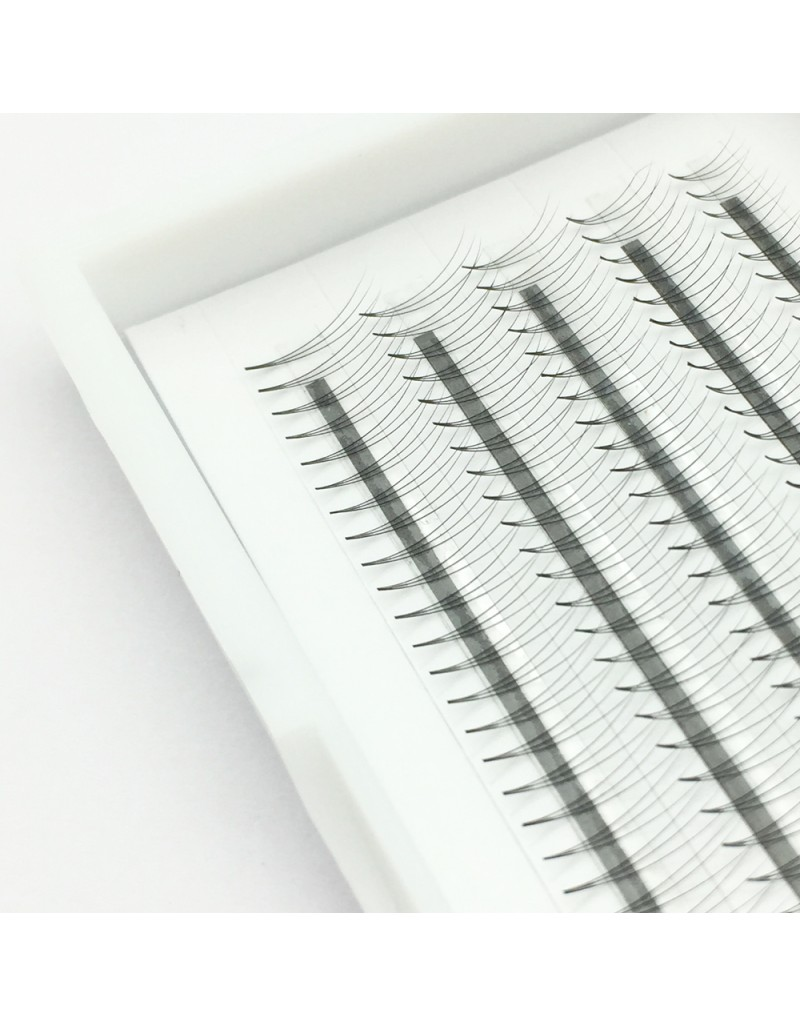 200PCS 3D W 07 Volume Lashes C Curl Premade Volume Fans Eyelash Extensions 8-12mm Lash Extensions Natural Long Clusters Extension Makeup Fake Eyelashes 5Rows  wholesale vendors