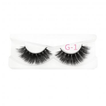 3D mink eyelashes Factory  Wholesale eyelashes vendors 100% real mink lashes G-1