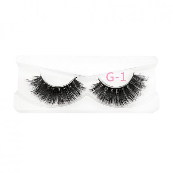 2019 newest 3D mink eyelashes Factory Price Wholesale eyelashes vendors 100% real mink lashes G-1
