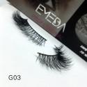 100% Real Mink Fur 3D Strip Lashes G03