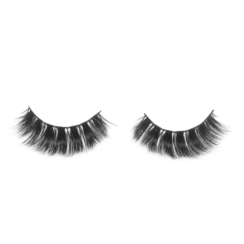 100% Real Mink Fur 3D Strip Lashes G04