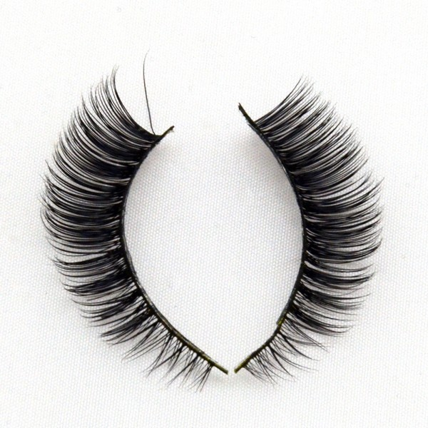 Wholesale Hand Made Gold Grade 3D Real Mink Lashes G010