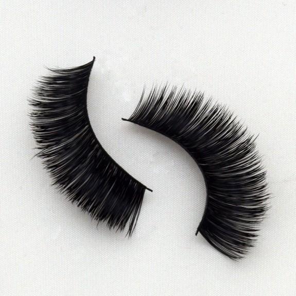 Natural 100% Real Mink Fur 3D Strip Lashes Vendor G013