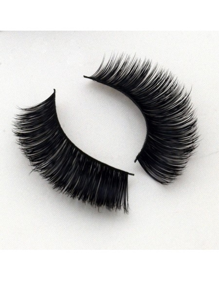 Natural 100% Real Mink Fur 3D Strip Lashes Vendor G013