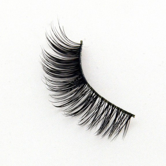 Nude Makeup Thick Real Mink Lashes G016