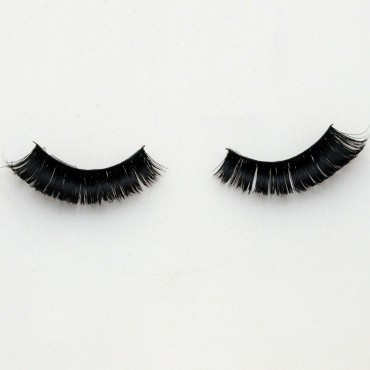 Handmade Multi-layer Cotton Stalk Real Mink Lashes G018