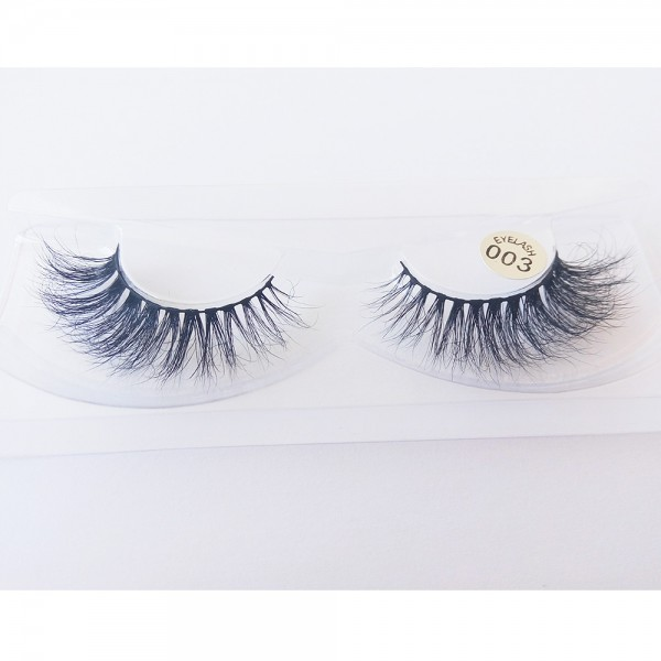 Wholesale 100% Handmade 3D real mink fur Lashes HD003