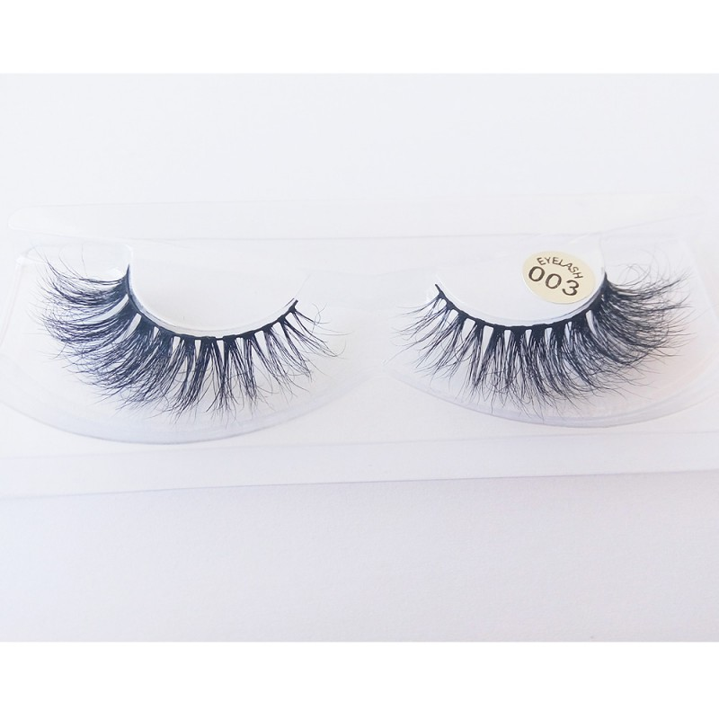 100% Handmade 3D real mink fur Lashes HD003