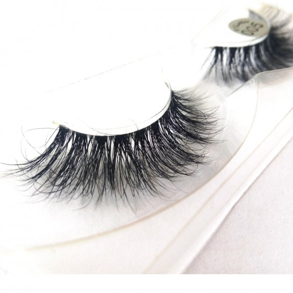100% Handmade 3D real mink fur Lashes HD005