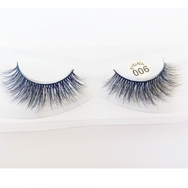 Wholesale 100% Handmade 3D real mink fur Lashes HD006