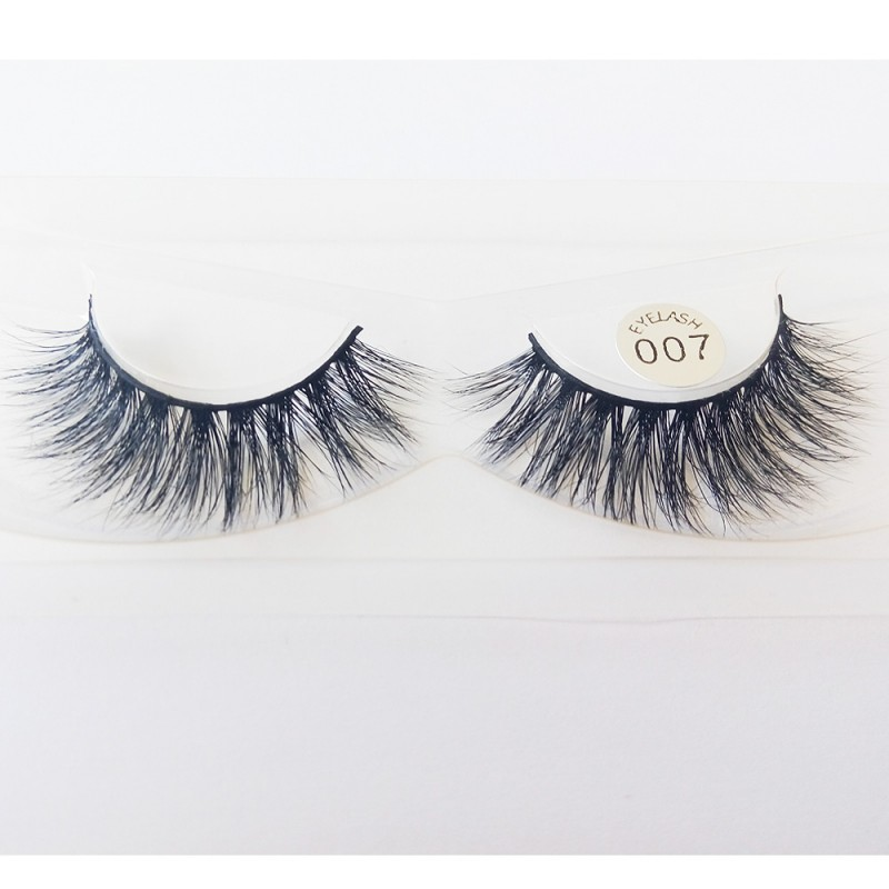 100% Handmade 3D real mink fur Lashes HD007