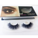 100% Handmade 3D real mink fur Lashes HD008