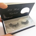 Wholesale 100% Handmade 3D real mink fur Lashes UK HD014