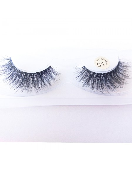 100% Handmade 3D real mink fur Lashes HD017