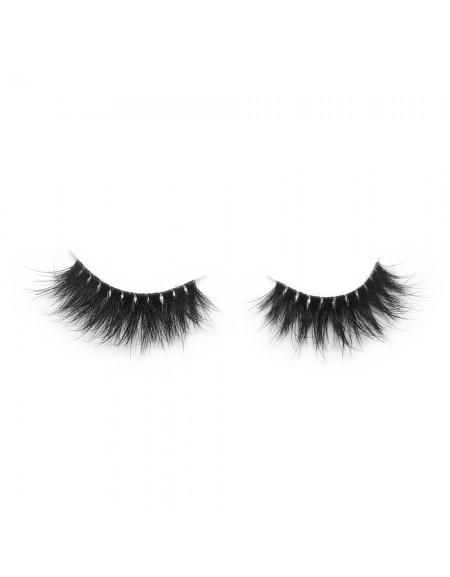 3D Mink Crown Grade 100% Siberian Fur Fake Eyelashes C06