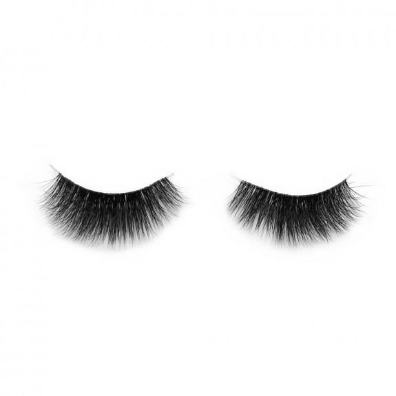 3D Mink Crown Grade 100% Siberian Fur Fake Eyelashes C05