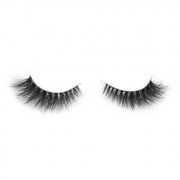 3D Mink Crown Grade 100% Siberian Fur Fake Eyelashes C01