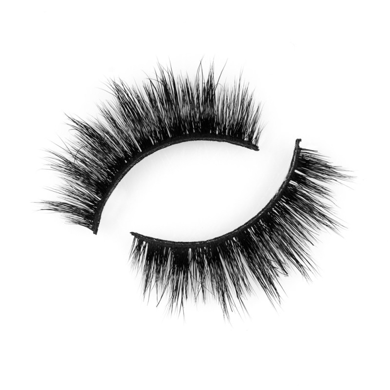 Wholesale 3D 100% Real Mink Eyelashes by Lashes Manufacturer P120