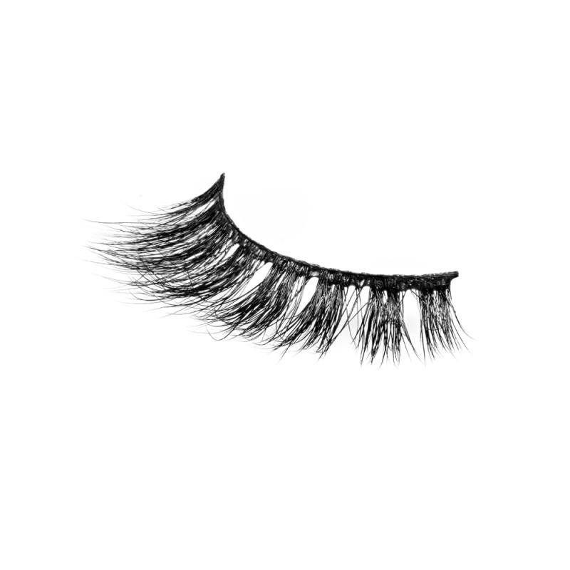Natural Short 3D 100% Real Mink Eyelashes P125