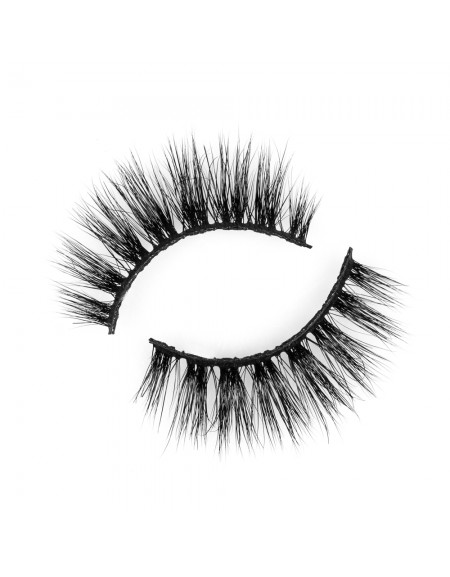 Natural Short 3D 100% Real Mink Eyelashes P125