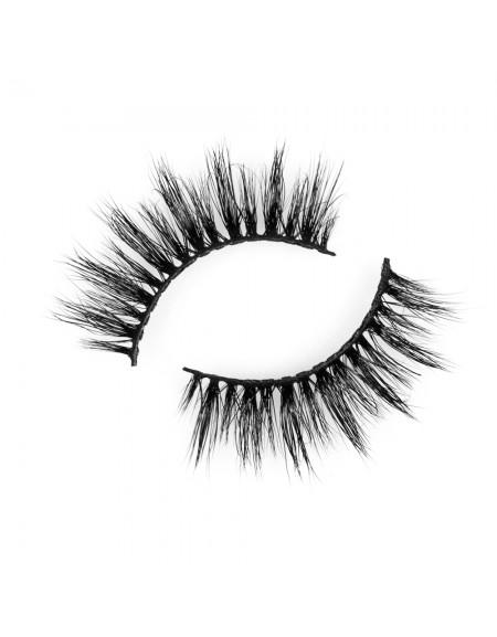 Hot Sell Fluffy Eyelashes Natural 3D Mink Eyelashes P126