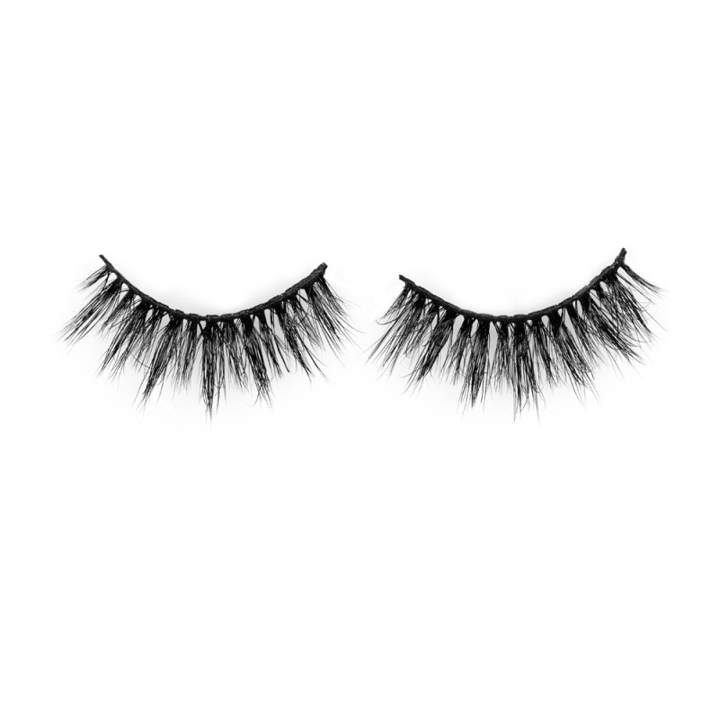 Hot Sell Fluffy Eyelashes Natural 3D Mink Eyelashes P126