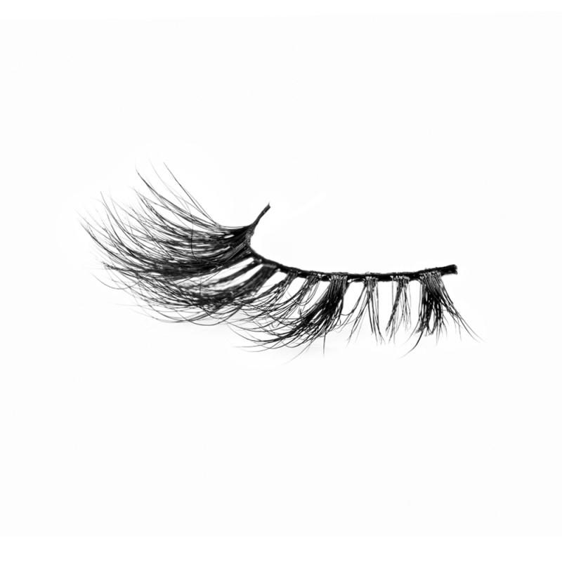 Flirty Look Black Band 3D 100% Real Mink Eyelashes P130