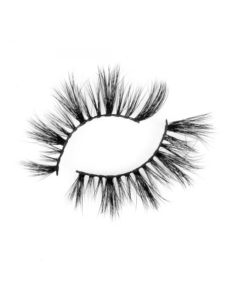 Flirty Look Black Band 3D 100% Real Mink Eyelashes P130