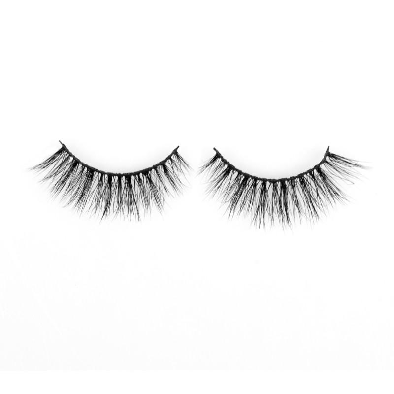 Soft Strong Cotton Band 3D 100% Siberian Real Mink Eyelashes P132