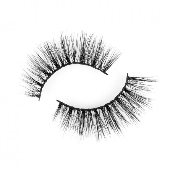 Soft Strong Cotton Band 3D 100% Siberian Real Mink Eyelashes P132
