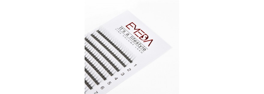 Cluster eyelash extension