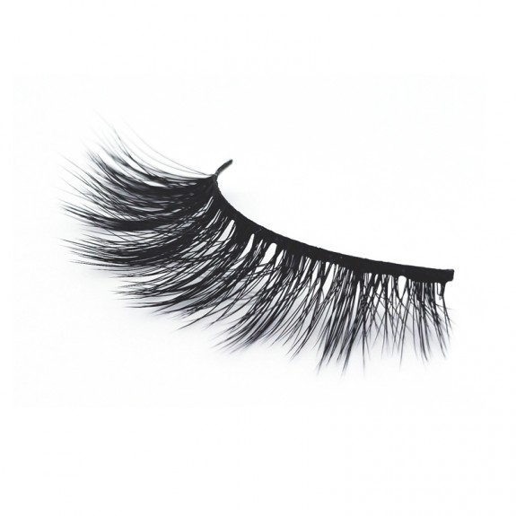 Wholesaler Supply Best-quality 3D Synthetic Strip Eyelashes SD250