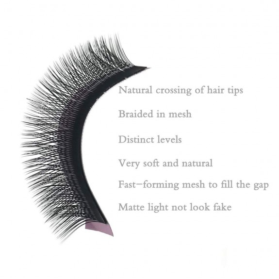 D Curl 0.07mm 8-14mm Single Length and Mix Tray Y Lash Extensions