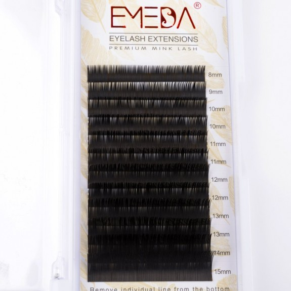 J/B/C/D Curl  8-15MM Mix 0.05mm 0.07mm 0.10mm 0.15mm 0.20mm Individual Eyelashes Extension