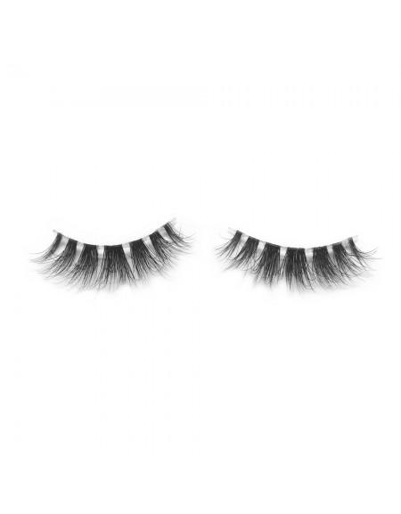 3D Mink Crown Grade 100% Siberian Fur Fake Eyelashes C04