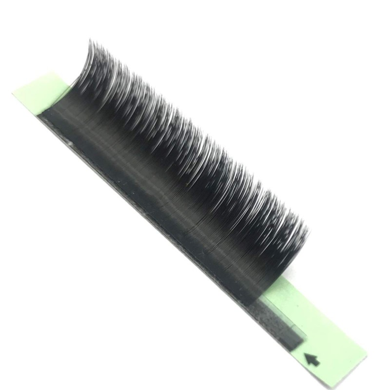 12 Rows D Curl 0.05mm 8-15mm Mixed Tray or 11mm 12mm 13mm 14mm 15mm Single Length 2D 3D 4D 5D 6D~10D Automatic Blooming Flower Eyelash Extension