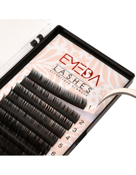 B Curl Eyelash Extensions Eyelash Extension Natural Black Lashes By EMEDA