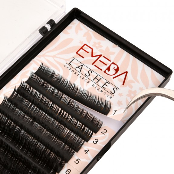 BIG SALE 0.15mm C Curl 8mm 10mm 12mm Single Length and Mix Length Individual Eyelash Extension