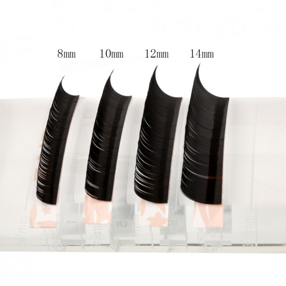BIG SALE 0.15mm I Curl 10mm 12mm 14mm single length and Mix Length Individual Eyelash Extension