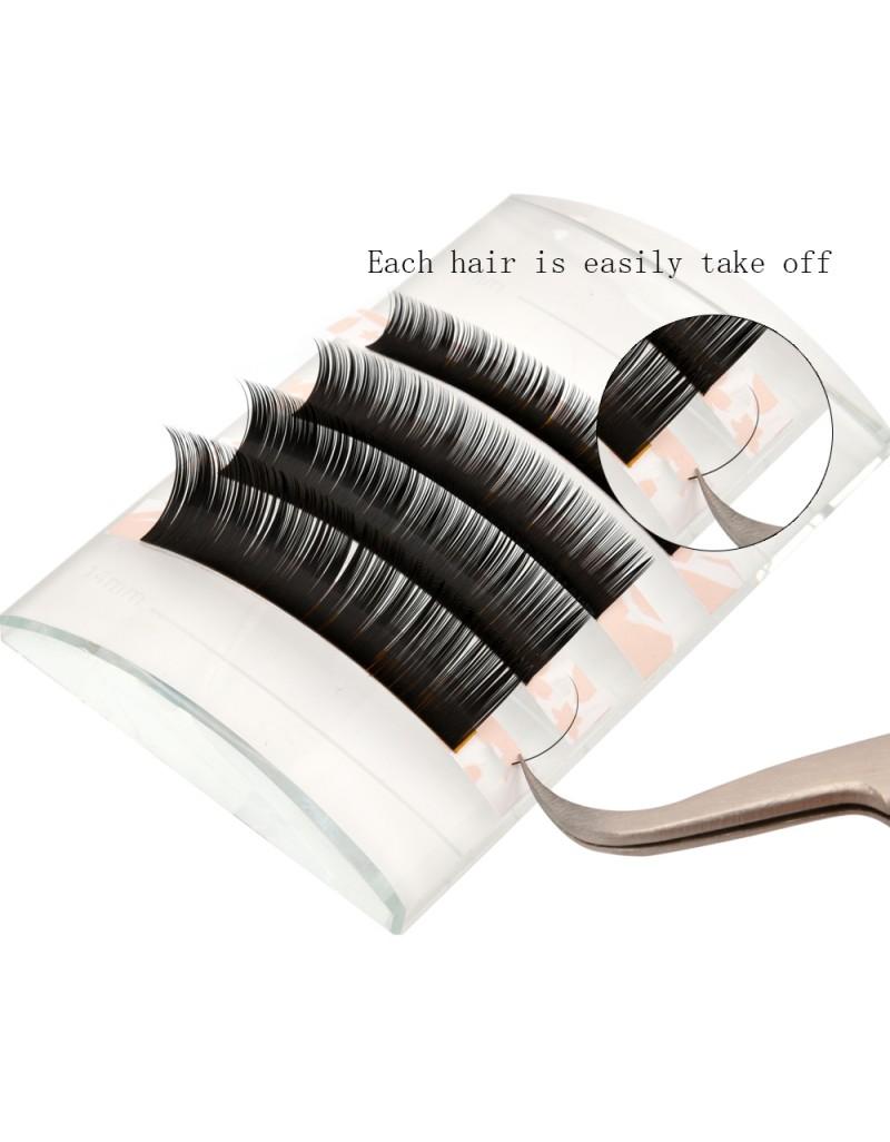 C Curl Eyelash Extensions Eyelash Extension Natural Black Lashes By EMEDA