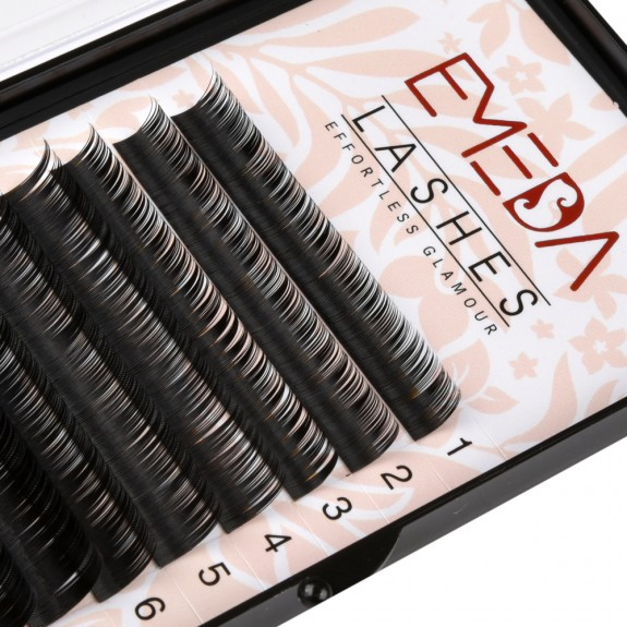 B Curl Eyelash Extensions Eyelash Extension Natural Black Lashes By EMEDA