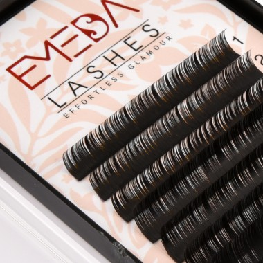 D Curl Eyelash Extensions Eyelash Extension Natural Black Lashes By EMEDA