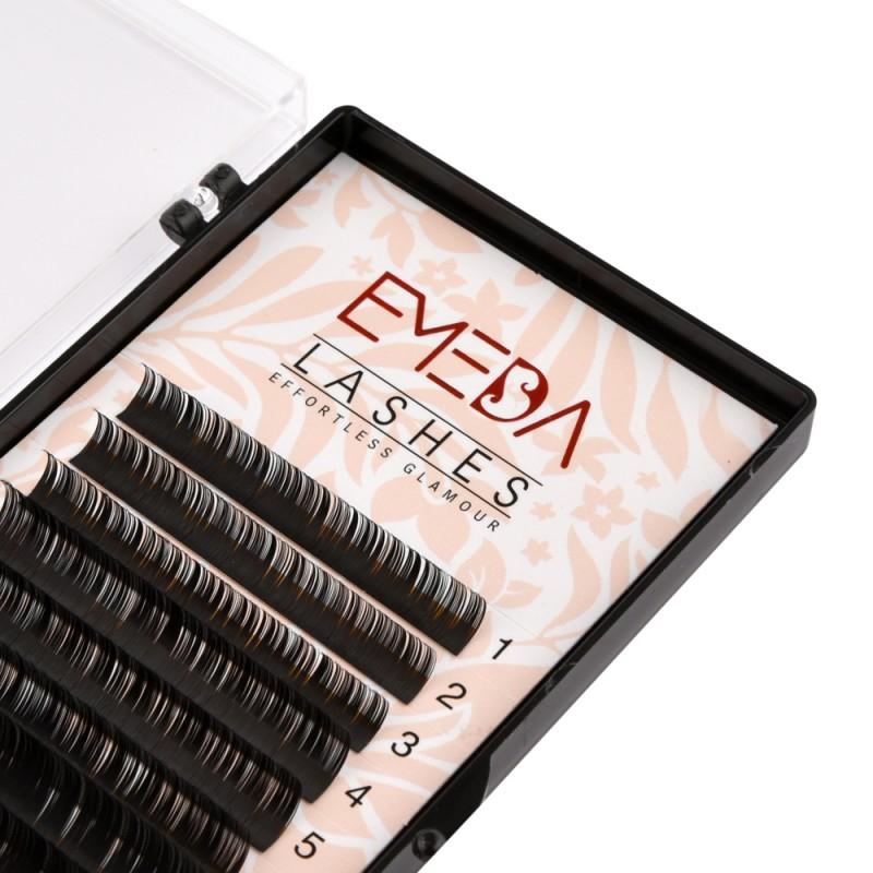 D Curl Eyelash Extensions Eyelash Extension Natural Black Lashes By EMEDA