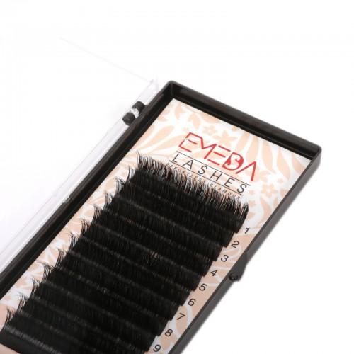 Real Mink Individual Eyelash Extensions 100% Real Siberian Mink Fur Lashes by EMEDA