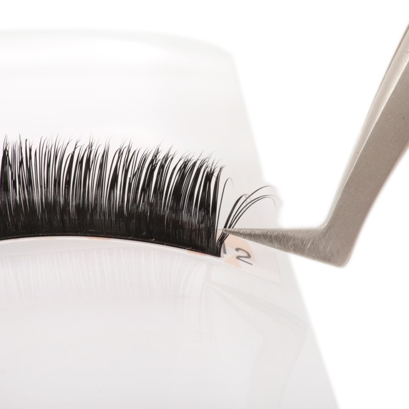 C Curl Real Mink Individual Eyelash Extensions 100% Real Siberian Mink Fur Lashes by EMEDA