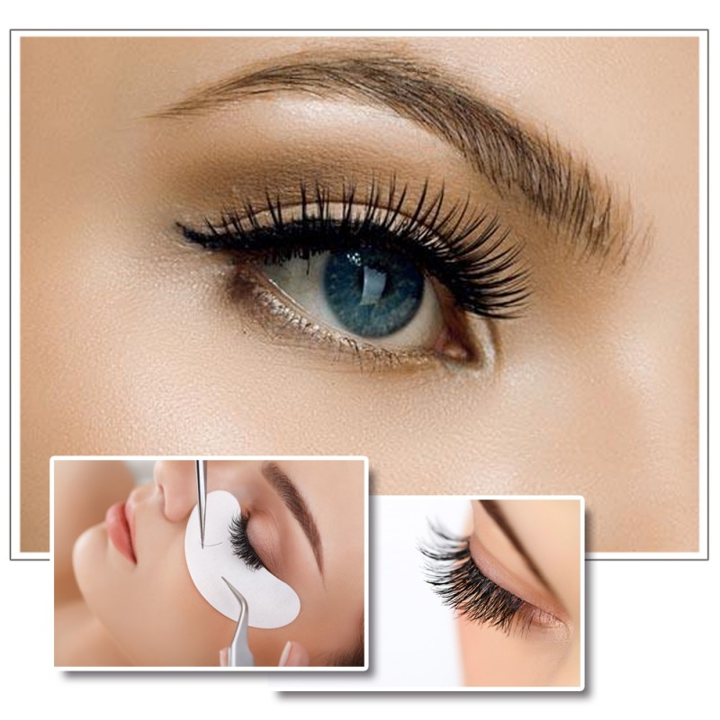 Wholesale C Curl Real Mink Individual Eyelash Extensions 100% Real Siberian Mink Fur Lashes by EMEDA