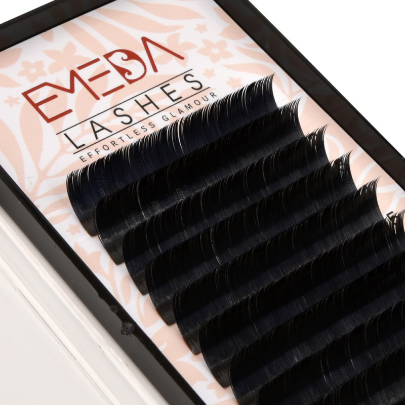 EMEDA Ellipse 0.15mm C Curl  Flat Eyelash Extensions Individual Eyelashes Light Lashes Mink False Lashes Salon Use