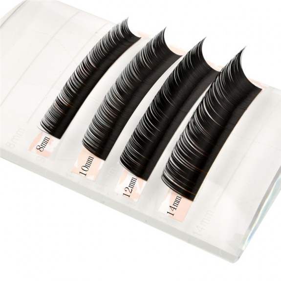 EMEDA  C Curl 3D W Thickness 0.07 0.10 0.15 Length 12MM 14MM MIX Volume Cluster Eyelash Extension wholesale