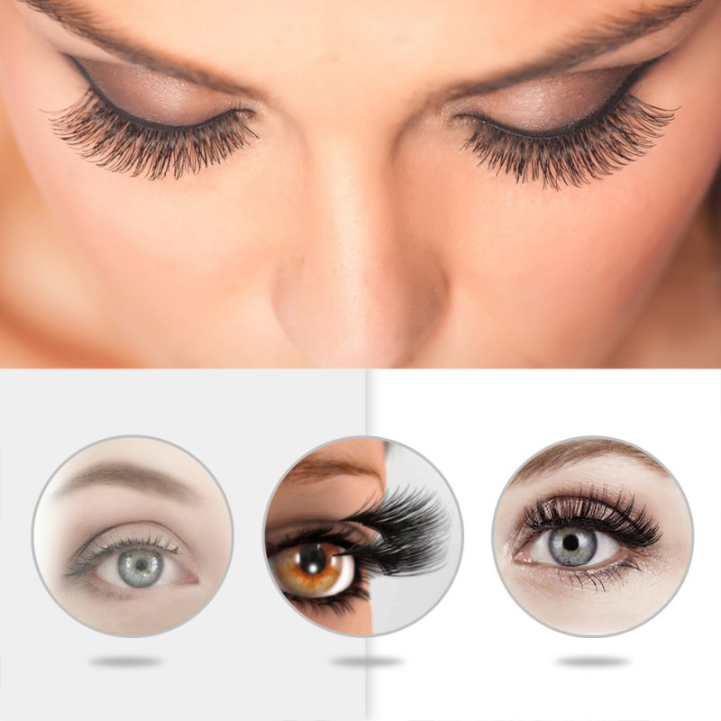 Hot Selling 2 pairs Double Magnets Magnetic Eyelash Vendors